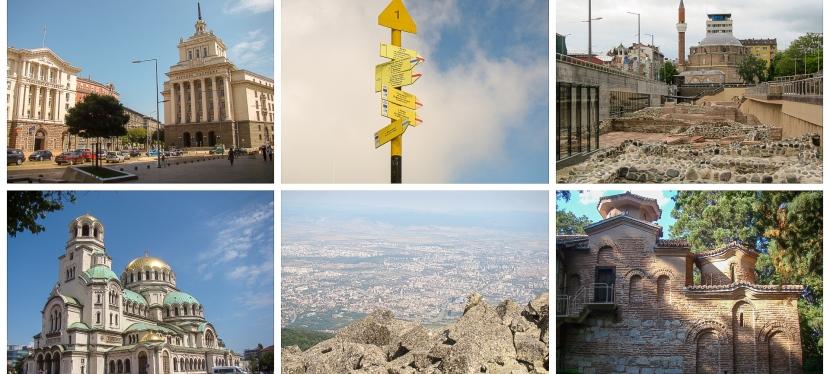 Sofia și Muntele Vitoșa, 6-7 iulie2019